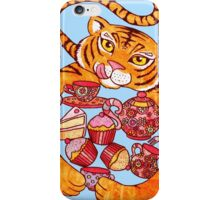The Tiger Who Came To Tee iPhone Case/Skin
