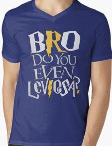Bro do you even Leviosa? Mens V-Neck T-Shirt