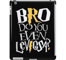Bro do you even Leviosa? iPad Case/Skin