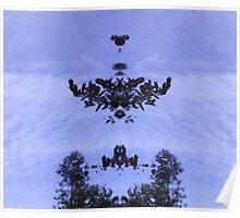 Tree Mirror Poster