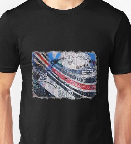 Elliott Smith Wall 2 Unisex T-Shirt