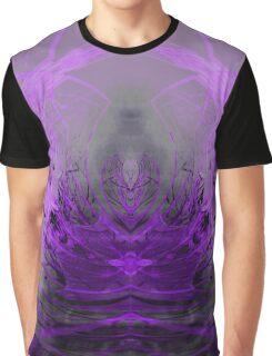 Temple Crane Lavender Graphic T-Shirt