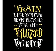 Train for the Triwizard Tournament Photographic Print