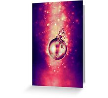 Tired of Disco Greeting Card