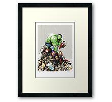 'little Avengers' Framed Print