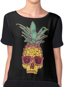 Pineapple Chiffon Top