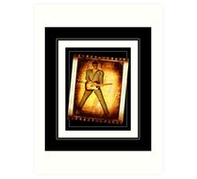 50s Rock Star Art Print