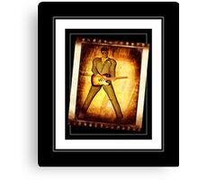 50s Rock Star Canvas Print
