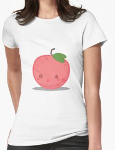 Cute Tropical Fruits - Lychee Womens Fitted T-Shirt
