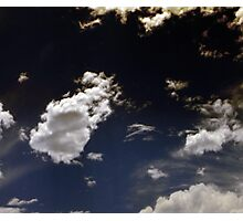 Dk Clouds Photographic Print