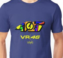 Valentino Rossi The Doctor VR 46 Helmet Logo Moto GP Unisex T-Shirt