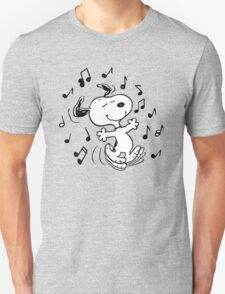 Dancing Snoopy Unisex T-Shirt