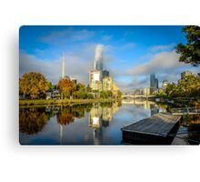 Melbourne Early Morning Canvas Print