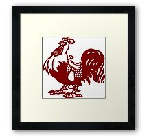 Does My Cock Look Funny to You? Framed Print