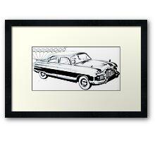 50's Retro Car 1 Framed Print