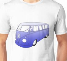 Blue VW Camper Unisex T-Shirt