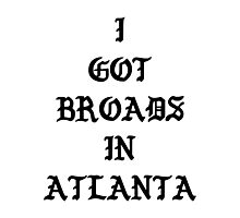 Desiigner - Broads In Atlanta Photographic Print
