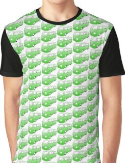 Green VW Camper Graphic T-Shirt