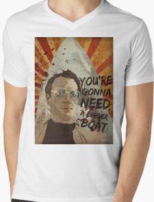 you're gonna need a bigger boat Mens V-Neck T-Shirt