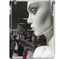Statues of the gods / In the Hall of Aphrodite III iPad Case/Skin