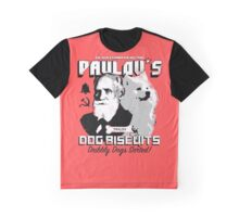 Pavlov's Dog Biscuits Graphic T-Shirt