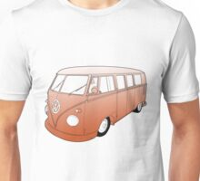 Orange VW Camper Unisex T-Shirt