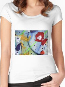 Art has no rules Women's Fitted Scoop T-Shirt
