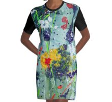 Art has no rules Graphic T-Shirt Dress