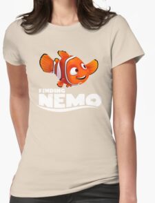 A Fish Funny Womens Fitted T-Shirt