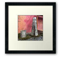 'Pillar house at home' The Accidental Pilgrim Framed Print