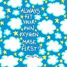 Oxygen Mask by Sammy Nuttall