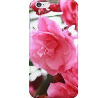Paysage - Fleurs roses iPhone Case/Skin