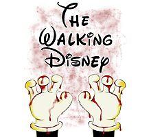 The Walking Disney Photographic Print