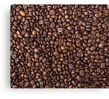 coffee bean all over print Canvas Print