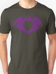 Clandestine Bat Heart - Purple T-Shirt