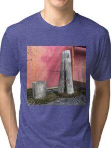 'Pillar house at home' The Accidental Pilgrim Tri-blend T-Shirt