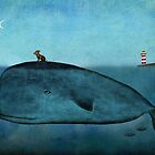 Whale and dog by taoart