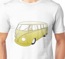 Yellow VW Camper Unisex T-Shirt