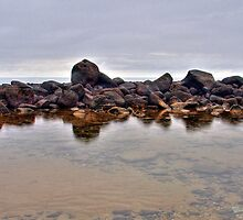 Water and Rocks by Joel Bramley