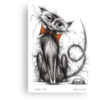 Loopy tail Canvas Print