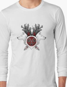 Wolves and a mask Long Sleeve T-Shirt