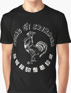 Sriracha Rooster Graphic T-Shirt