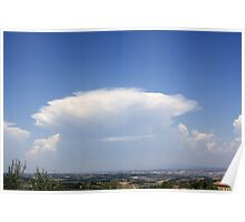 Cloud over Tuscany Poster