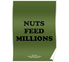 Howlin' Mad Murdock's 'Nuts Feed Millions' Poster