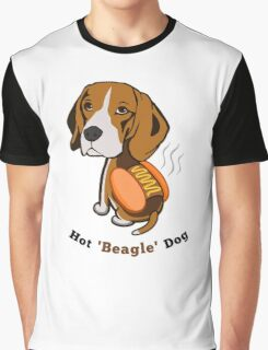 Hot Beagle Dog Graphic T-Shirt