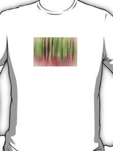 green and red abstract forest T-Shirt