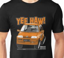 Fiat Cinquecento General Lee caricature Unisex T-Shirt
