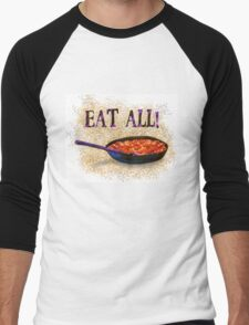Eat All (Bud Spencer tribute) Men's Baseball ¾ T-Shirt