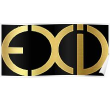 """EXID"" Gold T-Shirts & Hoodies Poster"