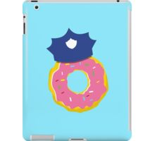 police hat with a doughnut iPad Case/Skin